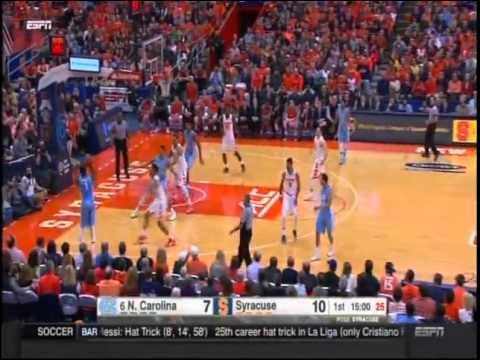 College Basketball 01/09/16-North Carolina vs. Syracuse