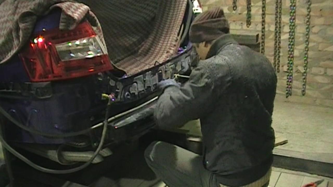Skoda Octavia.Кузовной ремонт задка