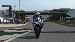 MotoGP 14 - Hot Lap around Autodromo del Mugello, Italy (Time Trial)