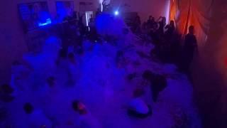 НЕОНОВОЕ Бумажное шоу 3 в 1!!! Бумага,дымовые кольца, дискотека!!