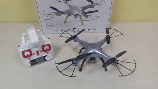 обзор классного бюджетного квадрокоптера X5HW