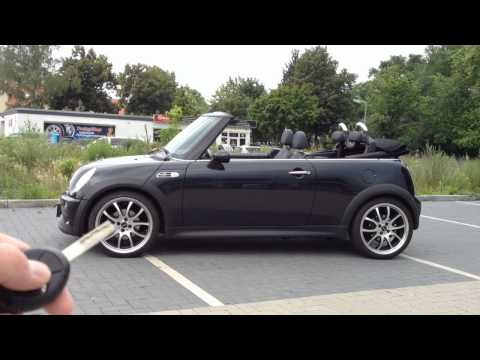 mods4cars SmartTOP for BMW Mini R52 Cabrio Convertible - operate the top by remote & while driving
