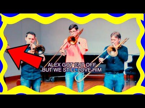 Improvised Trombone Quartet (w/ Christopher Bill, Jim Miller, & Alex Iles!)