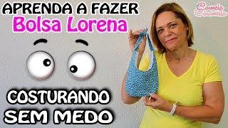 Costurando sem medo -Bolsinha Lorena