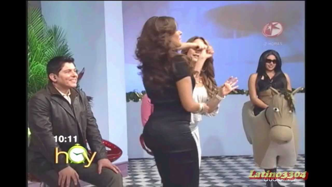 Galilea Montijo  Amazing in black WOW  YouTube
