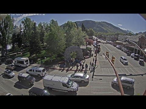Jackson WY Town Square Live Cam - SeeJH.com