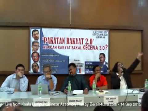 Hishamuddin Rais perlekeh Hadi Awang dalam forum