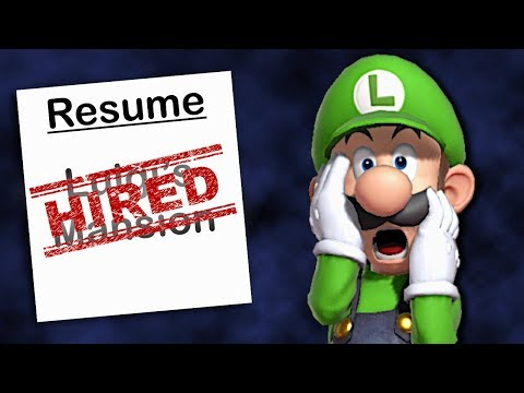 Applying To Jobs Using Luigi's Mansion As Experience