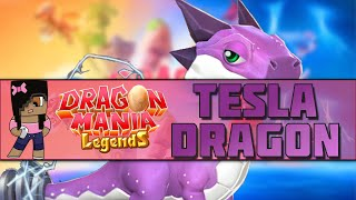 How to Breed the Tesla Dragon | Dragon Mania Legends