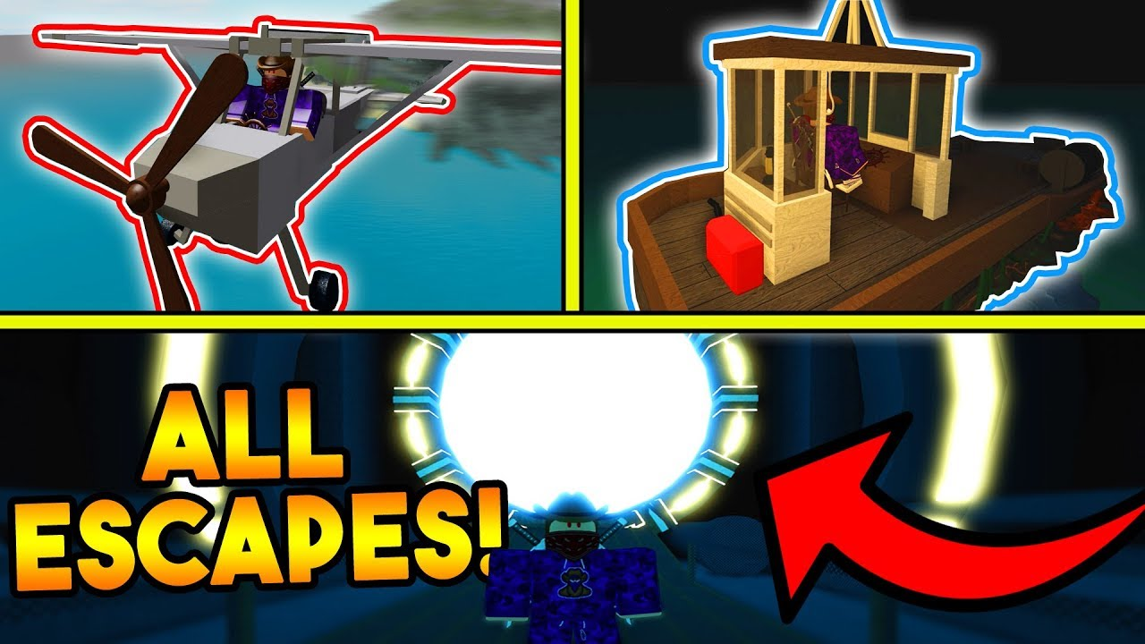 The Isle Code Roblox How To Complete All 3 Escapes On The Isle Roblox Youtube
