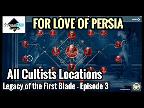 Assassin's Creed Odyssey: ALL CULTISTS LOCATIONS - Order of Ancients [Legacy First Blade Episode 3] thumbnail