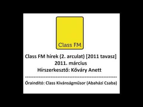 Class FM hírek (2011 tavasz/nyár) 2. arculat mp3 letöltés