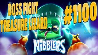 rovio nibblers boss fight treasure lizard level 1100 walkthrough