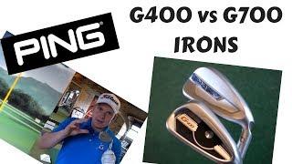 PING G400 V PING G700 IRONS