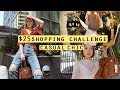$25 Shopping Challenge: Casual Chic Outfit at Downtown LA | Q2HAN