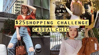 the shopping challenge