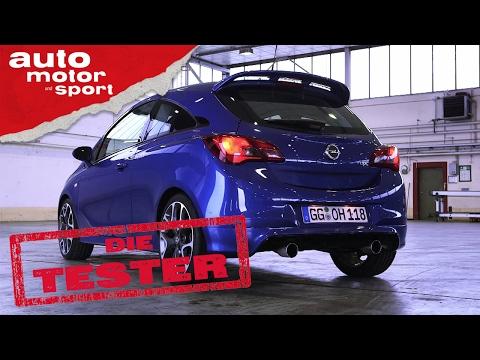 Opel Corsa OPC: Mit Ecken und Kanten - Die Tester | auto motor und sport