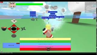 Naruto Shippuden game in ROBLOX