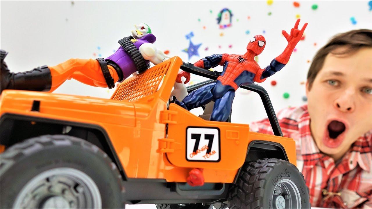 Мастерская Фёдора - Человек Паук - Джип для супергероя!
