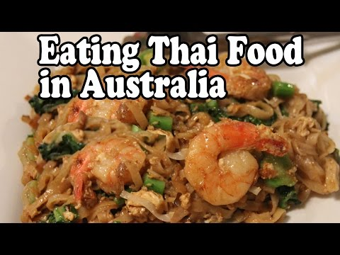 Eating Thai Food in Australia, a Wildlife Park & Wineries. Thailand to Australia Travel Vlog 5