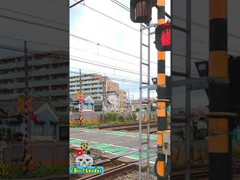 【踏切 電車】カンカン ふみきり Trains & Railroad crossings in Japan JR京浜東北06