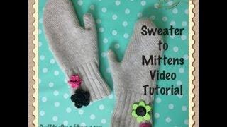 DIY Mittens Craft