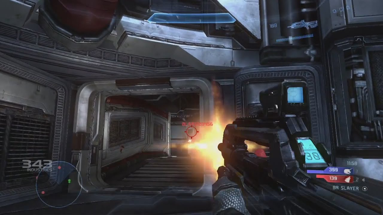 New Halo 4 Multiplayer Gameplay Footage & Trailer 343 ...
