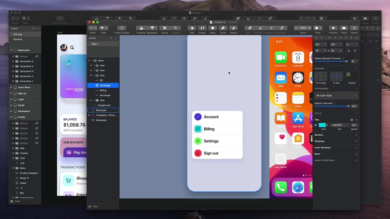 UI Design: Big Rounded Corners - YouTube