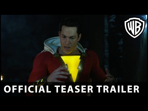 Shazam! - Official Teaser Trailer - Warner Bros. UK