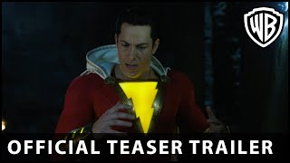Shazam! - Official Teaser Trailer - Warner Bros. UK