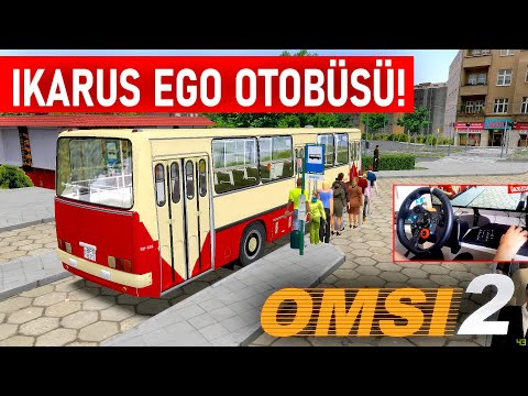 yolculari-aŞaĞi-İndİrdİm!---ikarus-i260-ego-otobÜsÜ---omsi-2-fiktiv-szczecin-gidiş&dönüş-57-hattı