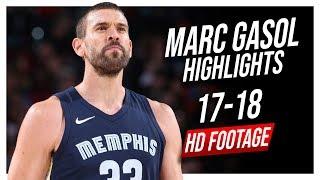 Grizzlies C Marc Gasol 2017-2018 Season Highlights ᴴᴰ