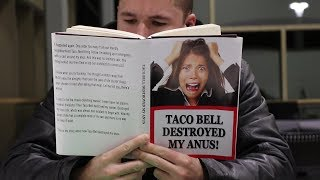 READING FUNNY BOOK COVERS! Part 3!