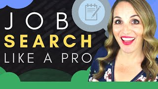 Job Search Workshop - 5 TOP Job Search Tips and Techniques 2019