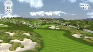 Hole 1 Golf Son Gual Mallorca