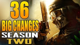 Black Ops Cold War: 36 Big Changes in The Season 2 Update! (Update 1.12)