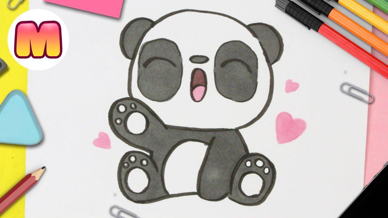 Como Dibujar Un Panda Kawaii Paso A Paso Dibujos Kawaii Fáciles