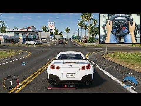 Nissan R35 GTR - The Crew 2 | Logitech G29 Gameplay