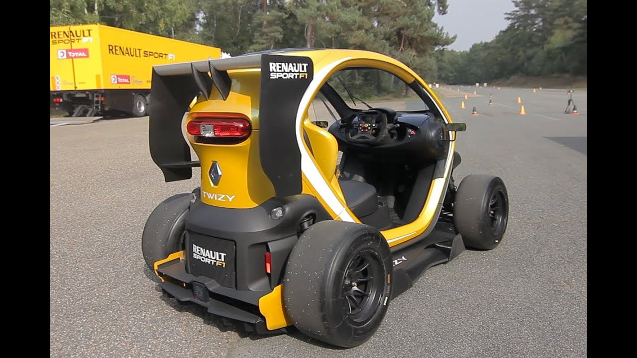 Renault Twizy Rsf1 Roadtest Youtube