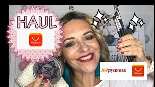 ALIEXPRESS HAUL ESPAÑOL SEPTIEMBRE 2018, BROCHAS, PINCELES, MAQUILLAJE PANDORAMENCHU