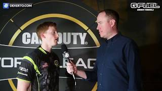 """I THINK ABOUT RETIRING EVERYDAY"" OpTic Scump Interview at MLG CWL Anaheim Open 2018"