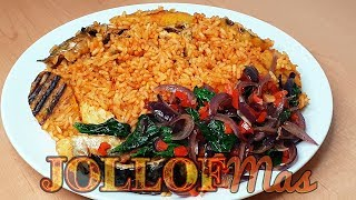 Planty Jollof Rice JOLLOFMas Day 13 | All Nigerian Recipes