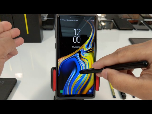 ????? ????? ???? ?????? ??? ???? Galaxy Note 9 Speed Up