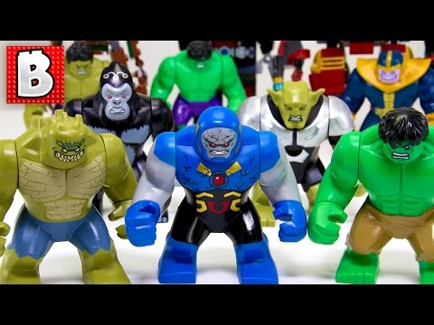Every Lego Marvel & DC Bigfig Ever Made!!! + Rare Original Hulk| Collection Review