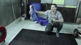 обзор пылевыбивальной машины