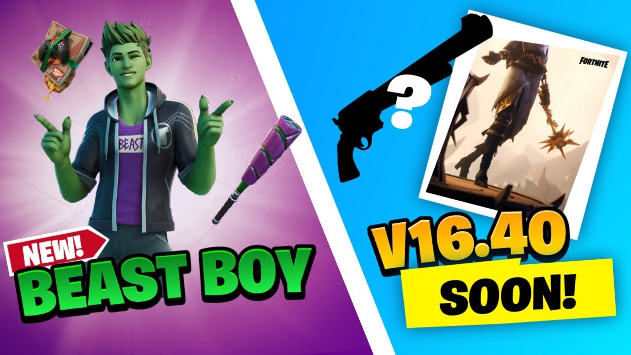 What to expect in the Fortnite 1640 UPDATE  FREE Rewards Beast Boy u0026 MORE