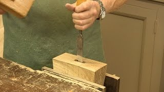 How To Make A Joiners Mallet (part 2) - With Paul Sellers