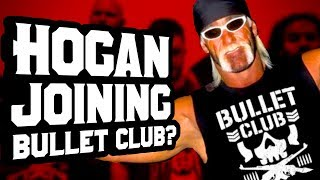 HULK HOGAN JOINING BULLET CLUB? Going in Raw Daily 9/12/17