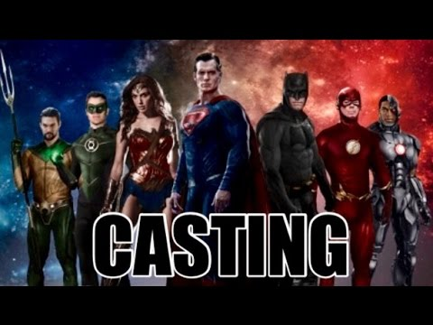 JUSTICE LEAGUE MOVIE DREAM CASTING