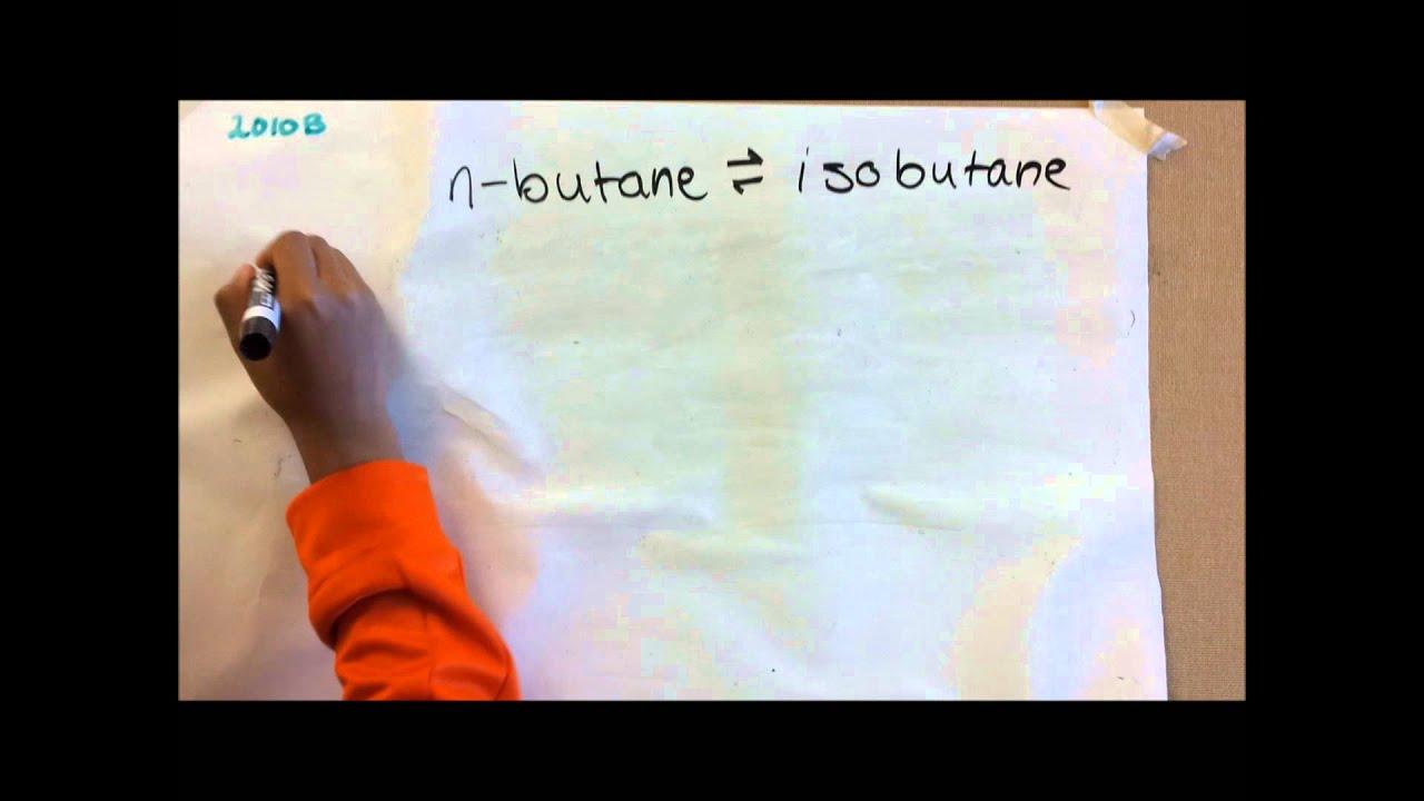 AP Chemistry Free Response Question 2010 B - YouTube